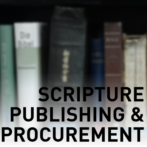 Scripture Publishing & Procurement
